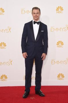 Pin for Later: The Small Screen's Hottest Stars on the Emmys Red Carpet! Derek Hough