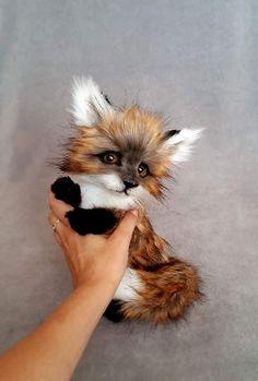 Little Fox By Vakulina - Bear Pile