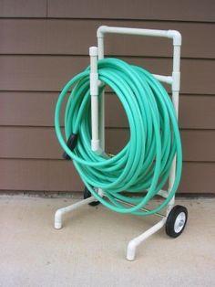 PVC hose caddy