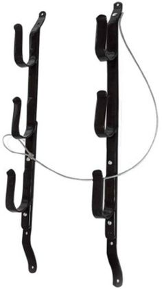 Allen Three Gun Locking Gun Rack Black Includes Cable But No Lock