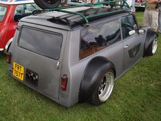 Austin Morris (Mazda Engine) Mini Clubman Custom Estate - 1979 | Flickr - Photo Sharing!