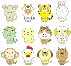 Bts Wallpaper Desktop, Bullet Journal For Beginners, Chinese Calendar, Year Of The Tiger, Kawaii Plush, Chinese Zodiac, Teaching Materials, Chinese Culture, Easy Drawings