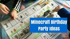 Minecraft Birthday Party Ideas • Cuddle Fairy
