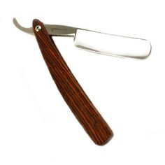 Check out this Cocobolo Straight Razor made in CA and MI by Hart Steel. Purchase to support 12 American workers and kiss your face with cold steel. Gets you 3,528 Boom™ Points. #MadeInUSA via http://pinterest.com/mademovement/.