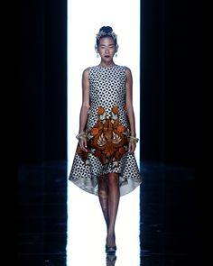 SEMEN KACA PECAH COCKTAIL DRESS - Iwan Tirta Private Collection