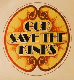 "God Save The Kinks 1968 ""The Now & In-between"" boxset promo sticker.. It came with letters, poster, a badge & other items.. Like ""Live at Leeds"""