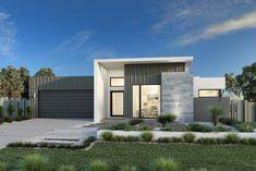 Custom Home Designs, Custom Home Builders, Custom Homes, Modern House Plans, House Floor Plans, Facade Design, House Design, Vista House, Facade House