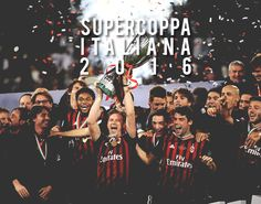 Congratulations to AC Milan for winning the Italian Super Cup against Juventus!!