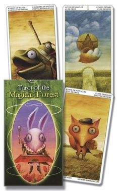 Llewellyn Worldwide - Tarot of the Magical Forest: Product Summary