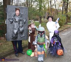 Star Wars Family - Halloween Costume Contest via @Costume Works