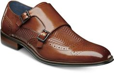 b28920ad633 Stacy Adams Mabry Double Monk Strap Shoes Men Shoes