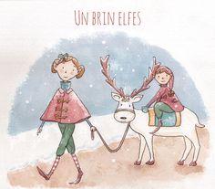 Elves by Isabelle Monnerot-Dumaine www.lespetitsbrins.com Illustration jeunesse
