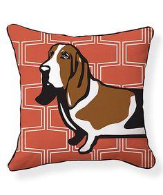 Love this Basset Hound Pillow/Brick by NAKED DECOR on #zulily! #zulilyfinds