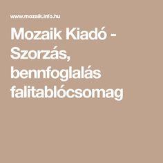 Mozaik Kiadó - Szorzás, bennfoglalás falitablócsomag