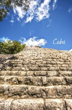 Cool view of Coba in Playa del Carmen. Mexico     www.ThinkResidual.info