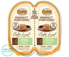 Check out this free sample from NUTRO™ PERFECT PORTIONS™ PinchMe site
