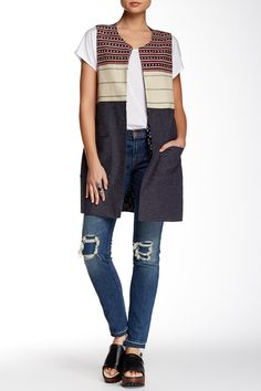 Sanctuary - Summer In The City Vest at Nordstrom Rack. Free Shipping on orders over $100.