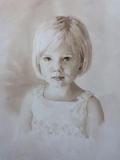 how to paint monochromatic portraits acrylic - Google Search