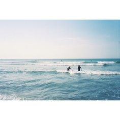 """We are tied to the ocean. And when we go back to the sea, whether it is to sail or to watch - we are going back from whence we came."" -John F. Kennedy # @trentbaileystudio #endlesssummer #prestonandolivia #surf #beach #summer #35mm #film"