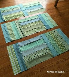 Fort Worth Fabric Studio: Oh Sew Baby: Strip Tango Baby Quilt Tutorial The finished quilt measures 48 x 60 inches. A perfect size for a baby, but still big enough to be useful for years! by Kathaleen Kelly-Crandall