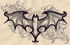 Bat élégant   Discussions urbaines: des motifs de broderie uniques et impressionnants