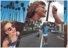 Τάμτα: Με στιλ super model στους δρόμους του Los Angeles! [pics] Supermodels, Top Models