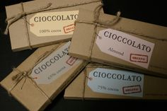 Cioccolato - aesthetic - raw, just arrived in the mail look