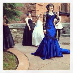 Kaitlyn McClain - FB com 'How to make corsets like a pro'- corset dress