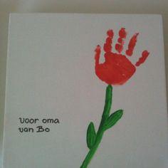 een mooie tulp voor de liefste mama!