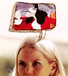 What Emma thought when she met Captain Hook. }:3