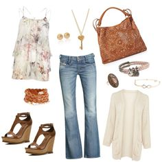 """Going to the supermarket and afternoon with the kids"" by claudia-x1717 on Polyvore"