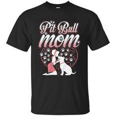 Family Mom Dogs Pitbull Shirts Pitbull Mom T-shirts Hoodies Sweatshirts