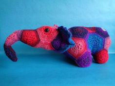 Bekijk dit items in mijn Etsy shop https://www.etsy.com/listing/229505771/nellie-elephant-crochet-elephant-in