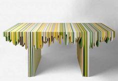stallagmiti color design    Leftover, la collezione di Rabih Hage per Corian Color Evolution