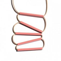 No.5 Pink Necklace by Lacoli & McAllister