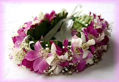 hawaii+flower+lei+of+head   Will last up to 4 days after delivery if kept cool…
