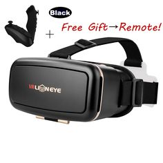 """CAEZE Lioneye 2016 Newest Version 3D VR Headset DIY Glasses Virtual Reality BOX II Kit For All 4.7""""-6.0"""" Smartphones with IOS/Android for 3D Movies and Video Games. 【What You Get】Big Promotion price to get your own private 3D cinema anywhere.Watch 3D movies and play games while siting, standing, lying on the porch, at home, office, travel, beach, airplane. 360 virtual experience. 【What We Offer】You can get manufacturer 1 year warranty and Caeze customer service. 【Comfortable Design】Caeze..."""