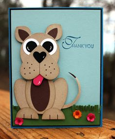 Hello! Hope your weekend is off to a nice start!  I worked on a few thank you cards last night that I wanted to share with you! I am a hu...