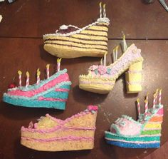 Confessions of a glitter addict: Birthday Cake Muses Shoes