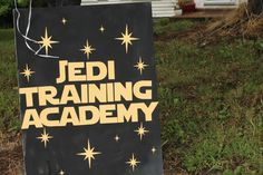 Star Wars Birthday Party Jedi Training Academy - fun activity ideas