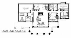 Lower floor plan.  I'm sure we will make a few changes to meet our needs but it's a start.