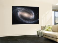 Beautiful Barred Spiral Galaxy NGC 1300, Hubble Space Telescope Wall Mural at AllPosters.com
