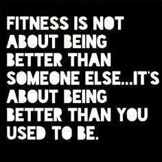 Sí esa es mi meta! Be fit... cooming soon . :)