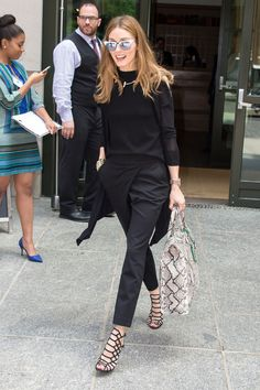 Olivia Palermo out in New York. See all of the model's most enviably perfect looks.