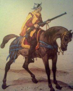 Arcabucero español, siglo XVI