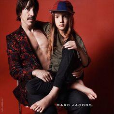 Anthony Kiedis and son Everly Bear