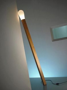 """LIGHT A MATCH"", led lamp,pinned by Ton van der Veer"