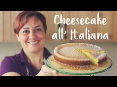 This super easy Italian cheesecake is the real deal. Not only it is delicious but very tasty. If you like cheesecake you are going to like this variation. Italian Cheesecake, Cheesecake Pie, Easy Cheesecake Recipes, Dessert Recipes, Tasty Videos, Food Videos, Italian Desserts, Pretty Cakes, Yogurt