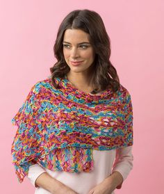 Happy-Go-Lacy Shawl  https://www.pinterest.com/marcilynnk/crochet-patterns-free/