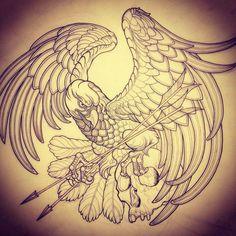 Tattoo Artwork by Jessica Mascitti at Graceland Brooklyn Hair & Tattoos